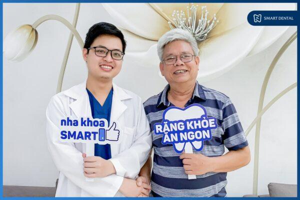 Gần 70 tuổi vẫn TRỒNG RĂNG để KHỎE hơn, ĂN NGON hơn - Chú Bùi Tăng Choang 2