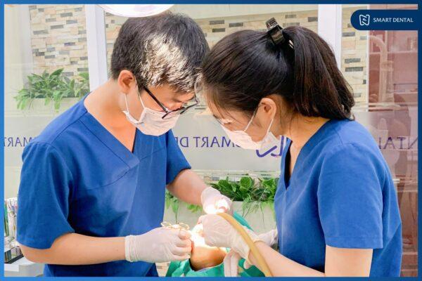 Khách hàng Lâm Bảo Nhật nhổ 2 răng khôn cùng lúc tại Nha khoa Smart 3