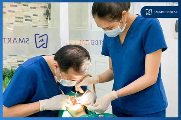 Đau răng khôn không chừa một ai! - KH Vũ Quyên nhổ răng khôn 2